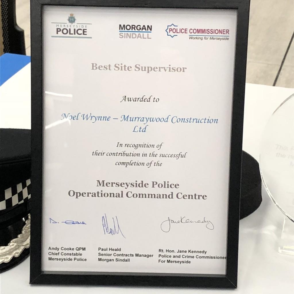 Award - Noel Wrynne - Murraywood Construction